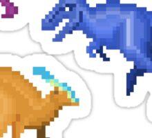 Prehistoric Pixels: Cretaceous Sticker