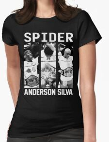 Anderson Silva Champion [FIGHT CAMP] Womens Fitted T-Shirt