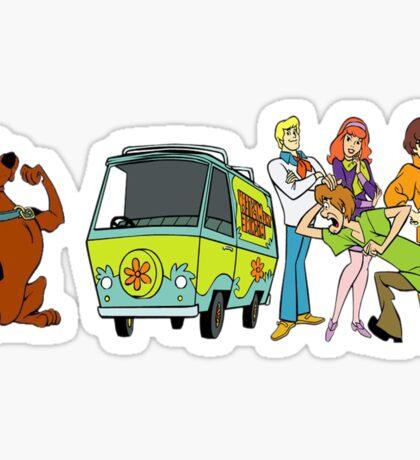 scooby doo Sticker