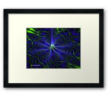 A Pinch in the Time Continuum Framed Print