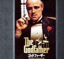 The Godfather vhs case  Sticker