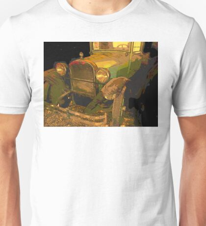 Classic Lines from vintage automobiles Unisex T-Shirt