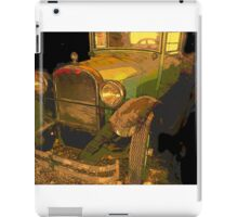 Classic Lines from vintage automobiles iPad Case/Skin