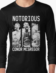 Conor McGregor Champion [FIGHT CAMP] Long Sleeve T-Shirt