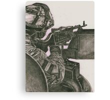One Shot Canvas Print