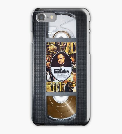 The Godfather vhs case 2 iPhone Case/Skin