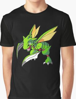 Shiny Scyther Graphic T-Shirt