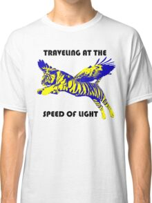 Traveling At The Speed Of Light Classic T-Shirt