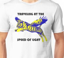 Traveling At The Speed Of Light Unisex T-Shirt