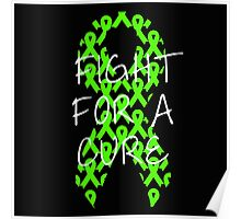 Fight For a Cure - Lime Poster