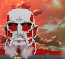 Attack on titan - Shingeki no Kyojin - Minecraft Sticker