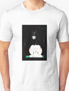 Beardsley Cat Illustration for Poe Unisex T-Shirt