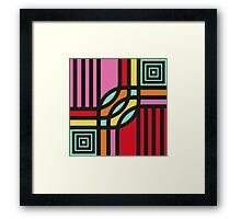 Geometric#12 Framed Print