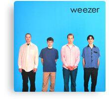 Weezer Blue Album Canvas Print