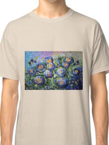 Roses are Blue by Lena Owens/OLena Art Classic T-Shirt