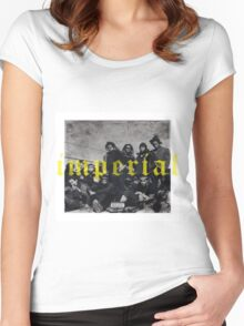 imperial denzel curry Women's Fitted Scoop T-Shirt