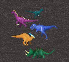 Prehistoric Pixels: Cretaceous Unisex T-Shirt