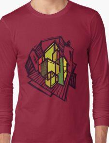 Urban sketch. Long Sleeve T-Shirt