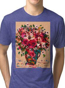 Garden Bouquet Tri-blend T-Shirt
