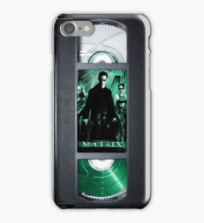 The Matrix vhs iphone-case iPhone Case/Skin