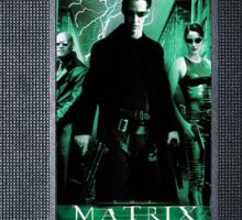The Matrix vhs iphone-case Sticker