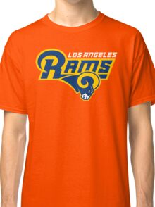LOS ANGELES RAMS BLUE LOGO Classic T-Shirt