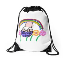 douche and bag Drawstring Bag