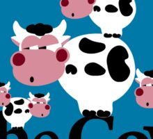 The Cows Sticker