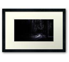 The Dark Forest 2 Framed Print