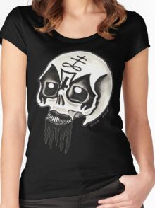 Death Metal Women's Fitted Scoop T-Shirt