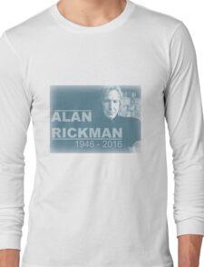 Alan Rickman  Long Sleeve T-Shirt