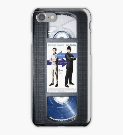 Catch Me if You Can VHS case iPhone Case/Skin