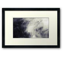 The Dark Forest 3 Framed Print