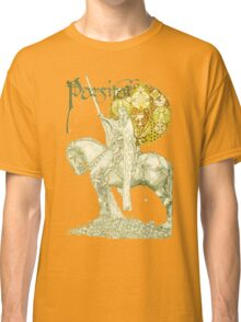 PERCEVAL LEGEND /QUEST OF HOLY GRAIL Yellow Green Fantasy Classic T-Shirt