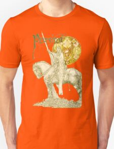 PERCEVAL LEGEND /QUEST OF HOLY GRAIL Yellow Green Fantasy T-Shirt