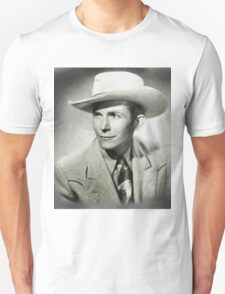 Hank Williams by MB Unisex T-Shirt
