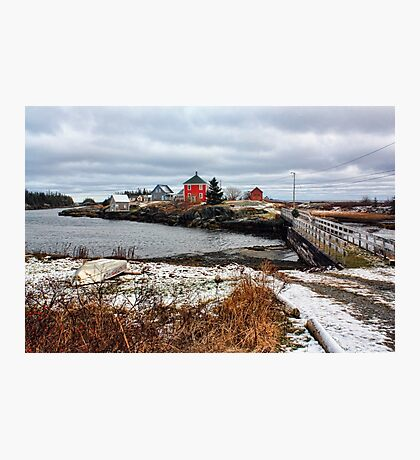 Winter at Stonehurst Photographic Print