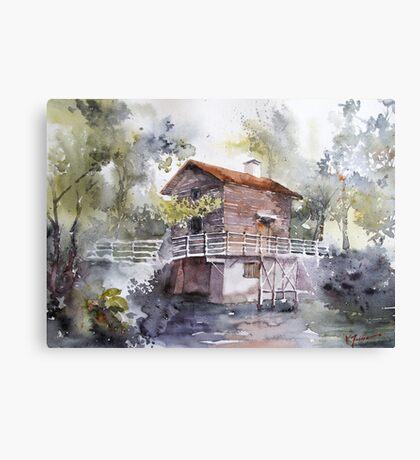 akwarelka 82 Canvas Print