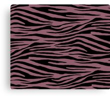 0404 Mauve Taupe or Raspberry Glace Tiger Canvas Print