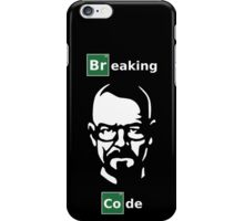 Breaking Code - Breaking Bad Parody Design for Programmers iPhone Case/Skin