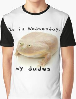 It is Wednesday my dudes Graphic T-Shirt