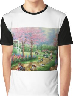 'Ridin' Dirty' - Funny Mario Kart Parody of Mario, Luigi, Bowser, Yoshi and More - Altered Thrift Art Parodies by Dave Pollot Graphic T-Shirt