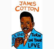 James Cotton Blues Folk Art Unisex T-Shirt