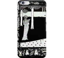 La Beale Isoud in the Garden iPhone Case/Skin