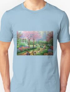 'Ridin' Dirty' - Funny Mario Kart Parody of Mario, Luigi, Bowser, Yoshi and More - Altered Thrift Art Parodies by Dave Pollot Unisex T-Shirt