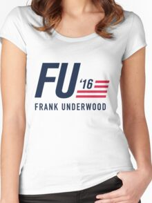 FU 2016 Women's Fitted Scoop T-Shirt