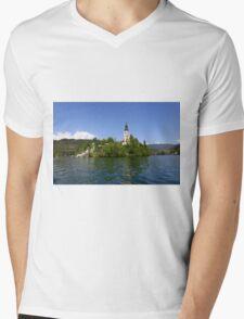 Blad Island Mens V-Neck T-Shirt