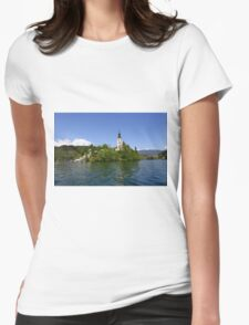Blad Island Womens Fitted T-Shirt