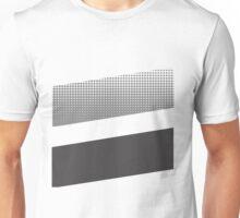 Halftone stripe logo Unisex T-Shirt