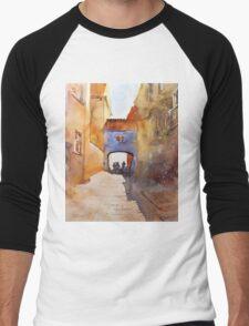 akwarelka 78 Men's Baseball ¾ T-Shirt